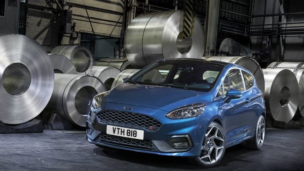 La nouvelle Ford Fiesta ST dispose d'un moteur entièrement en aluminium.