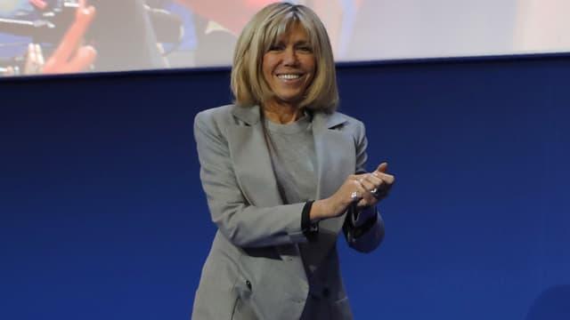 Brigitte Macron le 23 avril 2017