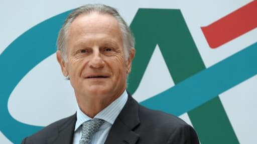 Jean-Paul Chifflet croit à de meilleurs jours pour le Crédit Agricole en Italie.