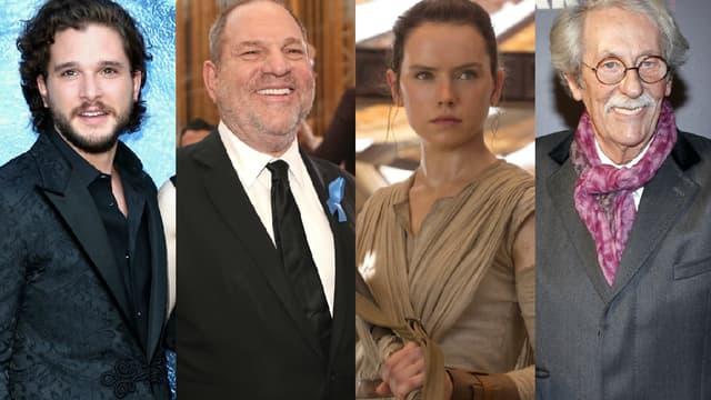 Kit Harington, Harvey Weinstein, Daisy Ridley et Jean Rochefort au coeur de l'actualité cette semaine.