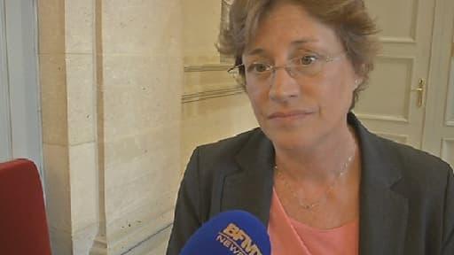 """Annick Lepetit, a estimé que l'ambiance mardi matin en réunion avec le Premier ministre et la quasi-totalité du gouvernement était au """"totalement +in love+""""."""