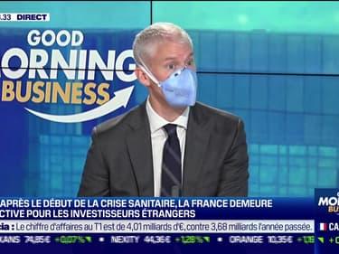Franck Riester, ministre délégué chargé du Commerce extérieur et de l'Attractivité, était l'invité ce lundi matin de Good Morning Business sur BFM Business.