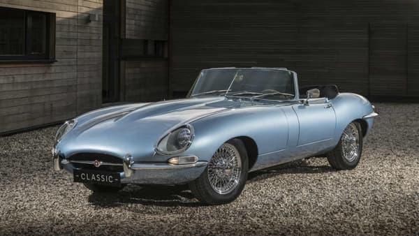 Jaguar pourrait commercialiser cette version 100% électrique de la Type E.