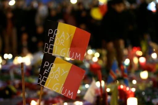 De l'aéroport de Zaventem à la place de la Bourse, en plein coeur de la capitale, Bruxelles était recueillie et émue