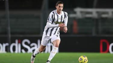 Adrien Rabiot sous le maillot de la Juventus.