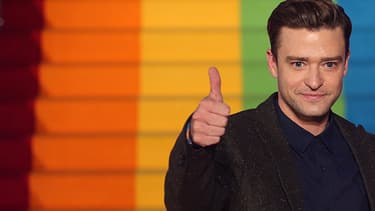 Justin Timberlake et Anna Kendrick à la première de Trolls à Londres