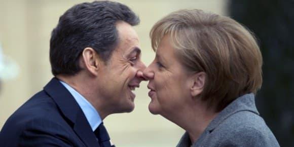 Nicolas Sarkozy et Angela Merkel avaient noué une relation de confiance, durant le mandat de l'ex-président français.