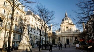 L'université de la Sorbonne à Paris le 16 février 2010
