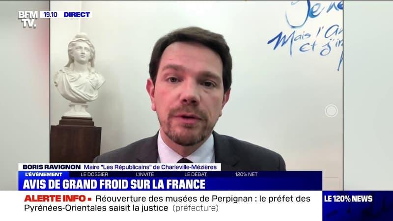 Froid: pour le maire de Charleville-Mézières, la priorité est de