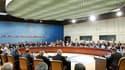 Lors d'une réunion des ministres de la Défense de l'Otan, mercredi à Bruxelles. Trois mois après le début de la campagne militaire en Libye, les membres de l'Alliance ont temporisé sur un soutien accru et élargi aux pays occidentaux menant les opérations
