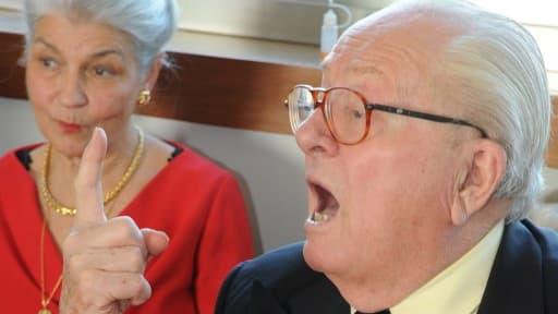 Jean-Marie Le Pen a assuré que l'enquête sur son supposé enrichissement personnel ne donnerait rien.