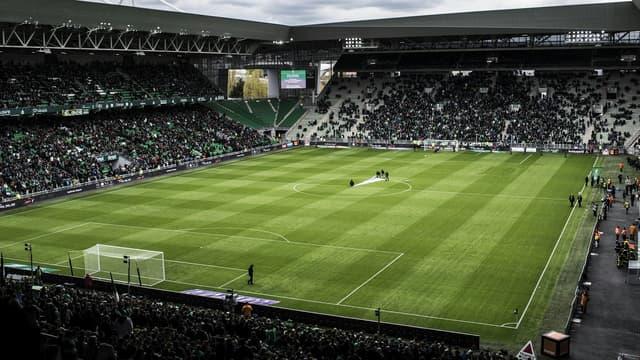 Le stade Geoffroy-Guichard réalise une meilleure affluence que sa moyenne de l'année dernière pour l'instant en L1.