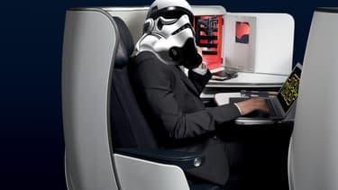Les passagers venus en business ou en Première auront droit à la salle VIP de 60 places dont les sièges peuvent se transformer en lits.