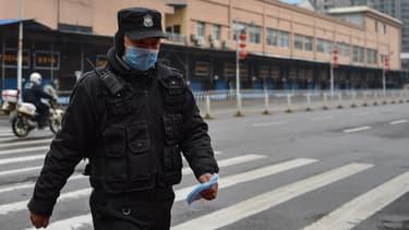 Un policier chinois (photo d'illustration)