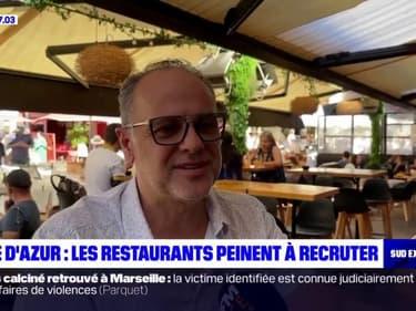 Côte-d'Azur: les restaurants peinent à recruter