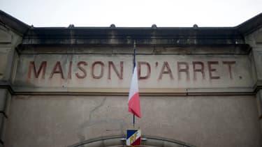 L'entrée de la prison de Lure, en Haute-Saône. (photo d'illustration)