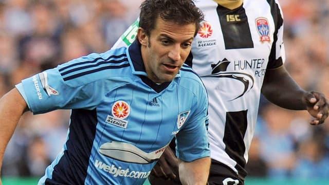 Alessandro Del Piero et Sydney, c'est fini