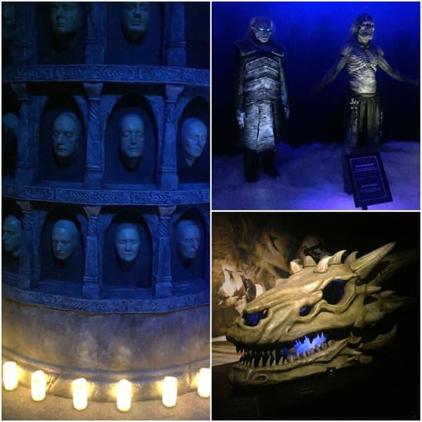 Le Mur des Visages, des Marcheurs Blancs et un crâne de dragon