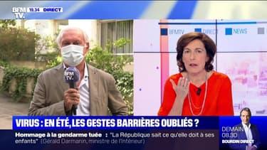 Jean-Francois Delfraissy face à Ruth Elkrief - 09/07