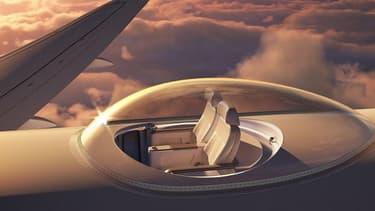 Le système Skydeck pourrait être adapté à différents types d'avion.