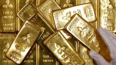 Le prix de l'once d'or a fortement chuté en 2013