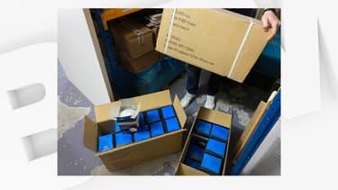 Le patron de l'entreprise Sarbacane Software a retrouvé des masques FFP2 qu'il a livrés au CHU de Roubaix, le 21 mars 2020