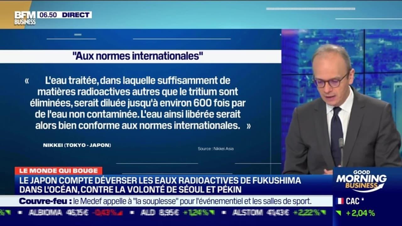 Benaouda Abdeddaïm : Le Japon compte déverser les eaux radioactives de Fukushima dans l'océan, contre la volonté de Séoul et Pékin - 19/10