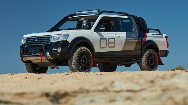 En Afrique, le groupe PSA commercialise déjà un pick-up sous la marque Peugeot. (image d'illustration)