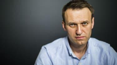 L'opposant russe Alexeï Navalny en juillet 2017 -