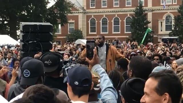Kanye West à l'Université Howard