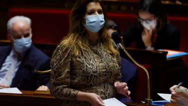 Marlène Schiappa à l'Assemblée nationale le 2 février