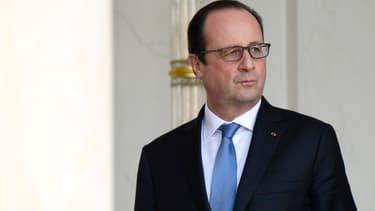 François Hollande le 29 octobre 2014, à l'Elysée.