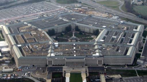 Le bâtiment du Pentagone, en janvier 2008.