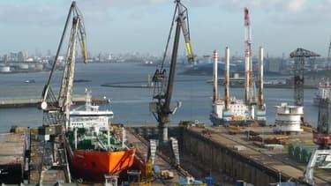 """Le port de Rotterdam qui a donné son nom à """"l'effet Rotterdam"""""""