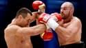 Wladimir Klitschko face à Tyson Fury