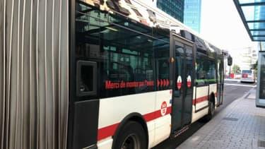 Un bus du réseau TLC.