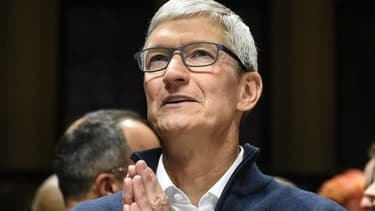 Le patron d'Apple Tim Cook.