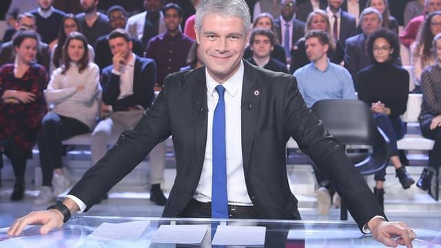 Laurent Wauquiez sur le plateau de France 2 jeudi soir.
