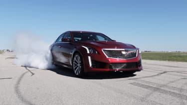 Hennessey livre une nouvelle Cadillac surpuissante, cette fois-ci, c'est le tour de la CTS-V.