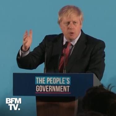 """Boris Johnson promet de réaliser le Brexit """"à temps"""", soit avant le 31 janvier"""