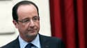 François Hollande le 21 décembre 2012. Un an après son arrivée au pouvoir, le chef de l'Etat n'a jamais été si bas dans les sondages.