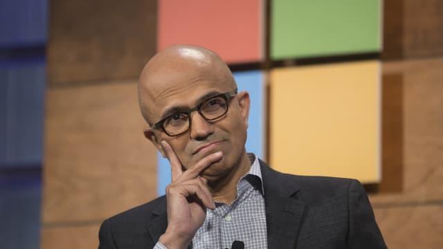 Pour Satya Nadella, CEO de Microsoft, le temps en venu de prendre une place dans le marché du smartphone