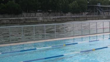 Aperçu de la piscine flottante Joséphine-Baker à Paris