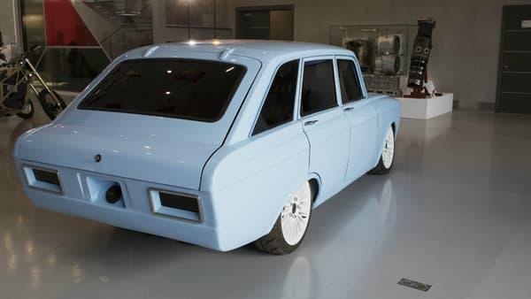 Le look s'inspire d'un ancien modèle des années 70.