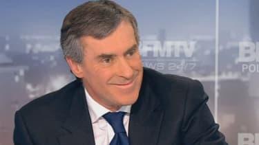 Le ministre du Budget, Jérôme Cahuzac.