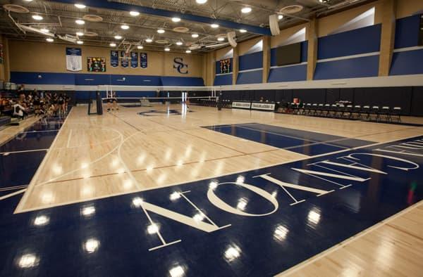La salle de basket de Sierra Canyon
