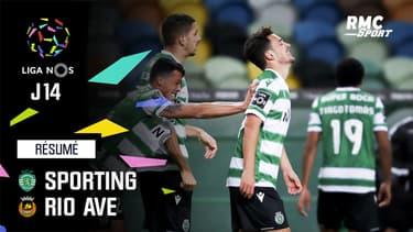 Résumé : Sporting 1-1 Rio Ave - Liga portugaise (J14)