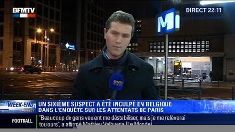 Attentats de Paris: Un sixième suspect a été inculpé en Belgique