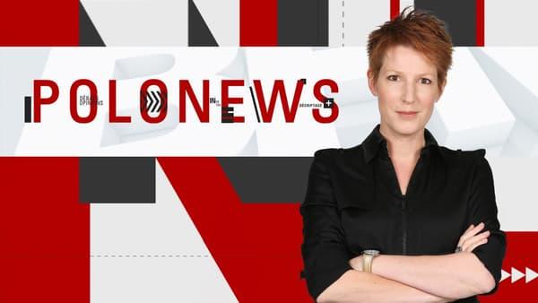 """Natacha Polony présente """"Polonews"""" sur BFMTV"""