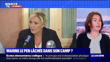 Marine Le Pen lâchée dans son camp ? (2) - 18/06